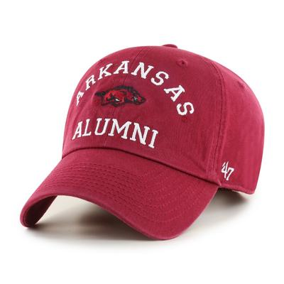 Arkansas 47'  Brand Alumni Clean Up Hat