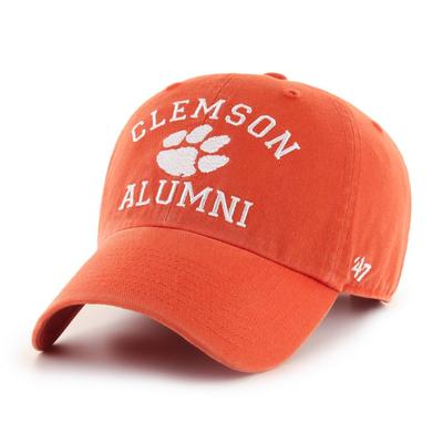 Clemson 47'  Brand Alumni Clean Up Hat