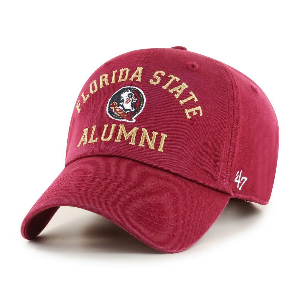 Florida State 47 ' Brand Alumni Clean Up Hat