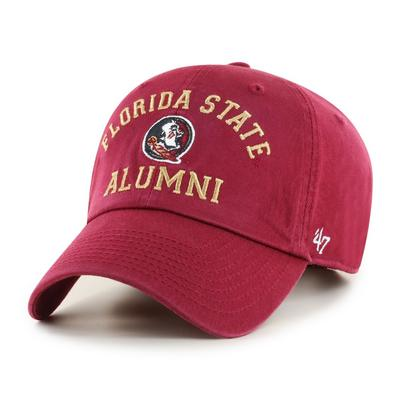Florida State 47'  Brand Alumni Clean Up Hat