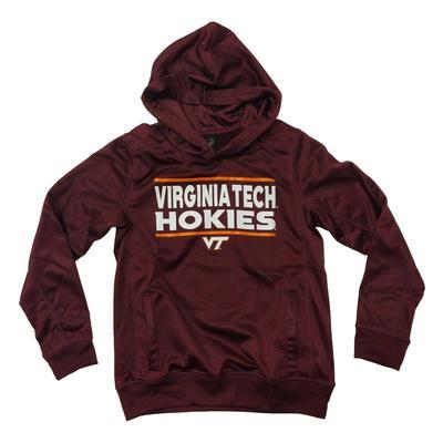 Virginia Tech Youth Performance Hood