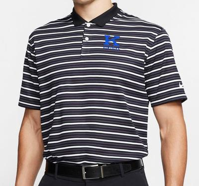 Kentucky Nike Golf Vintage K Dry Victory Stripe Polo