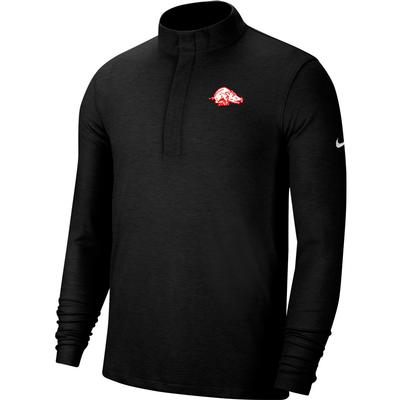 Arkansas Nike Golf Retro Running Hog Victory 1/2 Zip Pullover