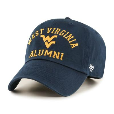West Virginia 47'  Brand Alumni Clean Up Hat