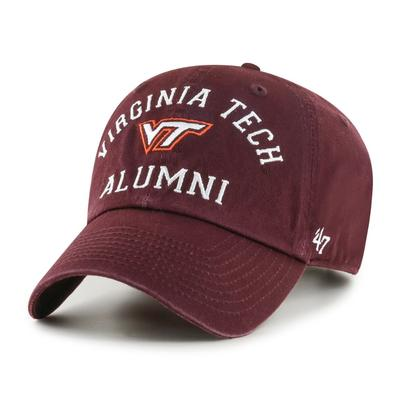 Virginia Tech 47'  Brand Alumni Clean Up Hat