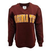 Virginia Tech Women's Cheer Crew Sweatshirt
