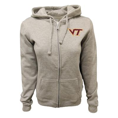 Virginia Tech Women's Cheer Full Zip Hood