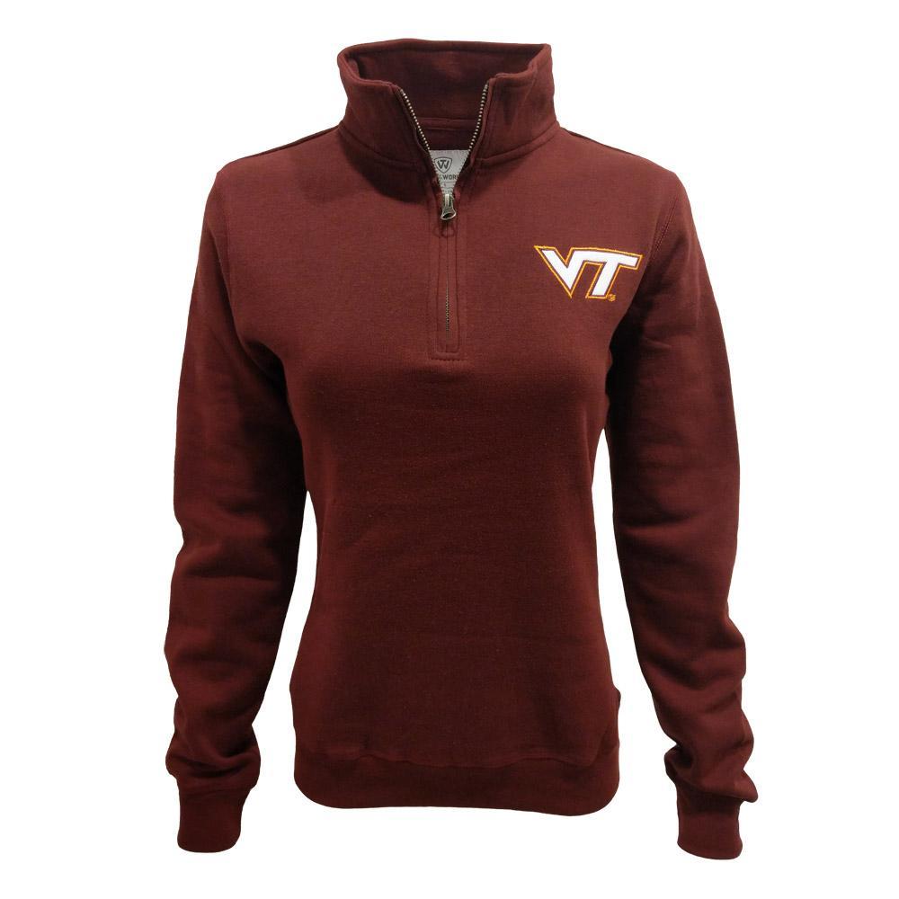 Virginia Tech Women's Cheer 1/4 Zip
