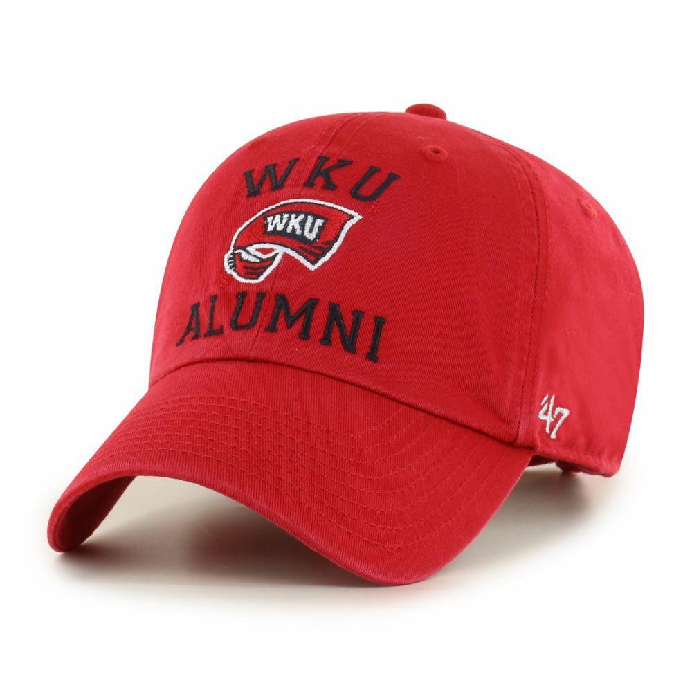 Western Kentucky 47 ' Brand Alumni Clean Up Hat