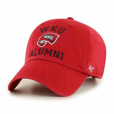 Western Kentucky 47'  Brand Alumni Clean Up Hat