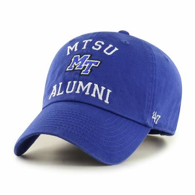 MTSU 47'  Brand Alumni Clean Up Hat