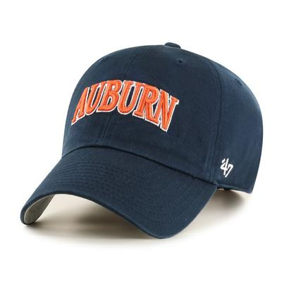 Auburn 47' Brand Arch Script Clean Up Hat