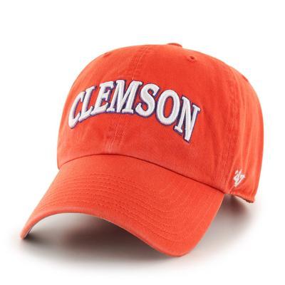 Clemson 47' Brand Arch Script Clean Up Hat