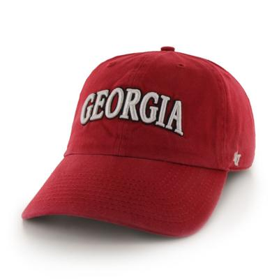 Georgia 47' Brand Arch Script Clean Up Hat