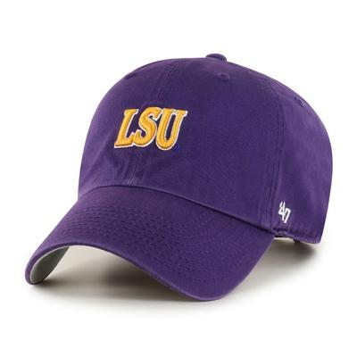 LSU 47' Brand Arch Script Clean Up Hat