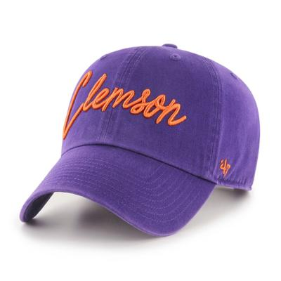 Clemson 47' Brand Women's Lyric Script Clean Up Hat