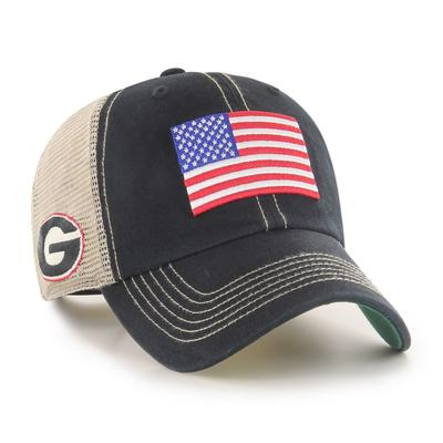 Georgia 47' Brand USA Flag Mesh Hat