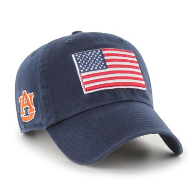Auburn 47' Brand USA Flag Clean Up Hat