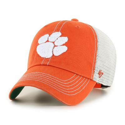 Clemson 47' Brand YOUTH Mesh Clean Up Hat
