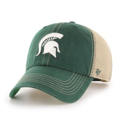 Michigan State 47' Brand YOUTH Mesh Clean Up Hat