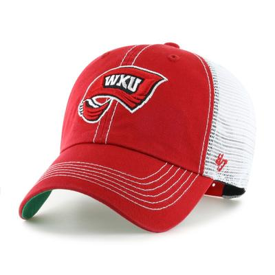 Western Kentucky 47' Brand YOUTH Mesh Clean Up Hat