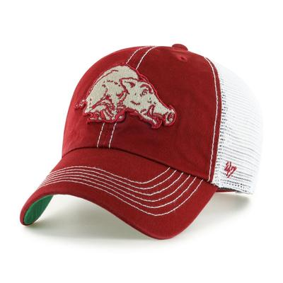 Arkansas 47' Brand YOUTH Mesh Clean Up Hat