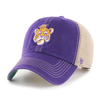 LSU 47' Brand YOUTH Mesh Clean Up Hat
