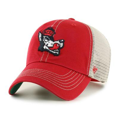 NC State 47' Brand YOUTH Mesh Clean Up Hat