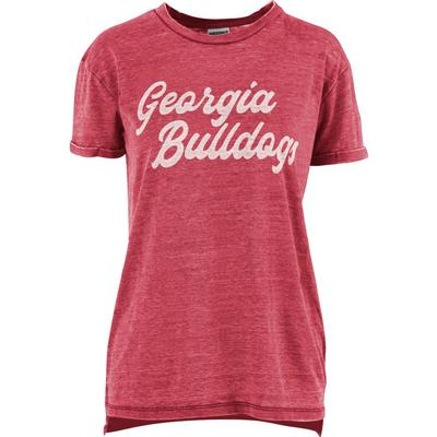 Georgia Pressbox Juniper Script Vintage Wash Tee
