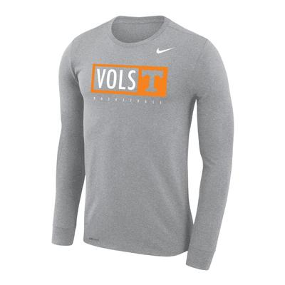 Tennessee Nike Vols Legend Long Sleeve Tee