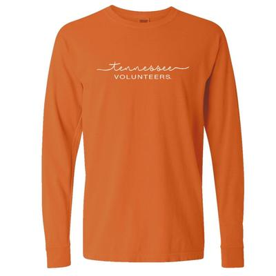 Tennessee Summit Women's FC Script Over Mascot Long Sleeve Tee