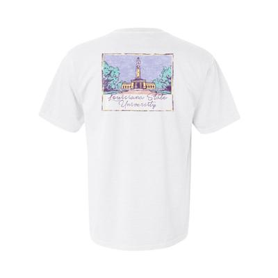 LSU Summit Women's Hand Drawn Campus Short Sleeve Tee