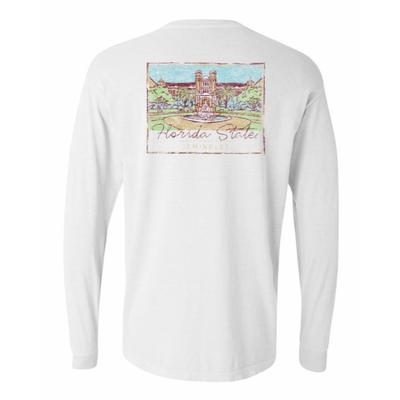 FSU Summit Women's Hand Drawn Campus Long Sleeve Tee