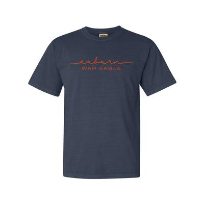 Auburn Summit Women's FC Script Over Mascot Short Sleeve Tee
