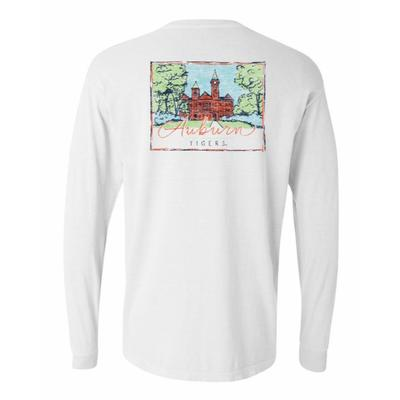 Auburn Summit Women's Hand Drawn Campus Long Sleeve Tee