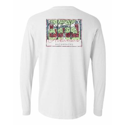 Arkansas Summit Women's Hand Drawn Campus Long Sleeve Tee