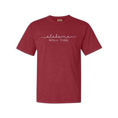 Alabama Summit Women's FC Script Over Mascot Short Sleeve Tee