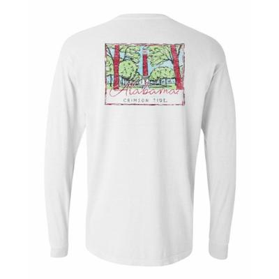Alabama Summit Women's Hand Drawn Campus Long Sleeve Tee