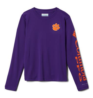 Clemson Columbia Youth Terminal Tackle Tee