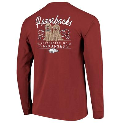 Arkansas Women's Double Trouble Long Sleeve Tee
