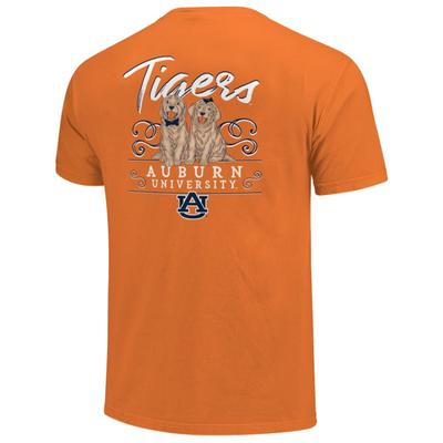 Auburn Women's Double Trouble Short Sleeve Tee