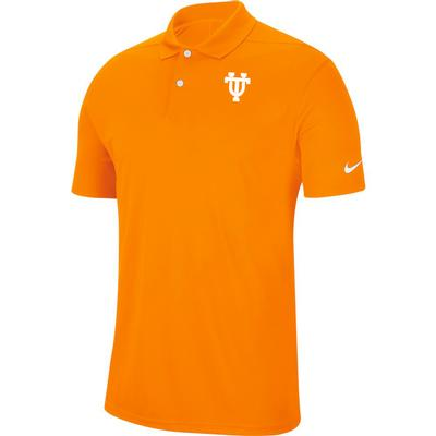 Tennessee Nike Golf Retro Interlock UT Dry Victory Solid Polo
