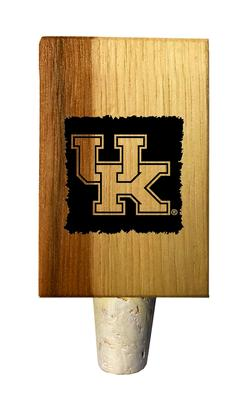 Kentucky Timeless Etchings Hickory Bottle Stopper