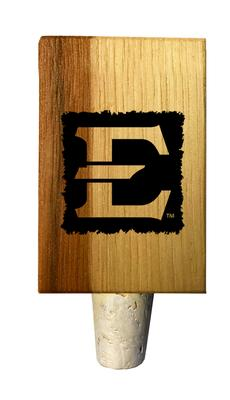 ETSU Timeless Etchings Hickory Bottle Stopper