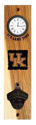 Kentucky Timeless Etchings Clock Opener Wall Mount