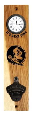 Florida State Timeless Etchings Clock Opener Wall Mount