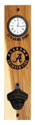 Alabama Timeless Etchings Clock Opener Wall Mount