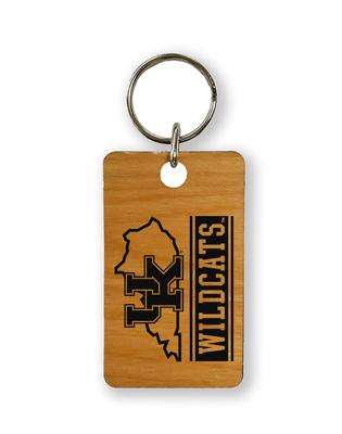 Kentucky Timeless Etchings State Key Chain