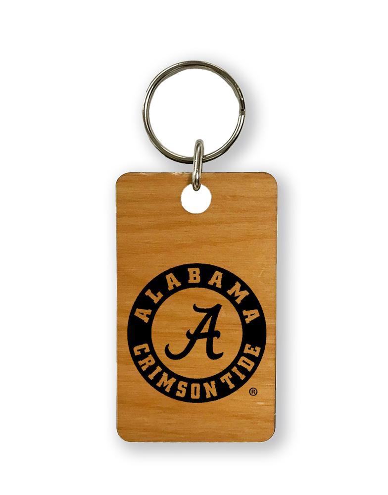 Alabama Timeless Etchings Key Chain