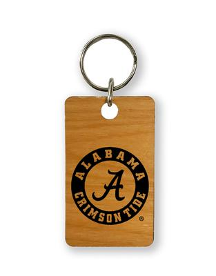 Alabama Timeless Etchings Key Chain